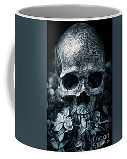 Coffee Mug featuring the photograph Death Comes To Us All by Edward Fielding