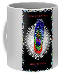 Death Of The Crayon Coffee Mug