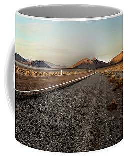 Death Valley Hitch Hiker Coffee Mug