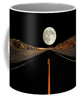 Death Valley Moon Rise Coffee Mug