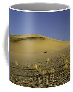 Death Valley Sand Dune At Sunset Coffee Mug