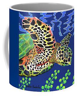 Debs Honu Coffee Mug by Debbie Chamberlin