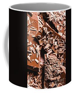 Decadent Chocolate Background Texture Coffee Mug