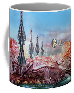 Decalcomaniac Transmission Towers Coffee Mug