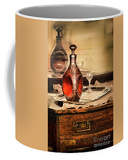 Coffee Mug featuring the photograph Decanter And Glass by Jill Battaglia