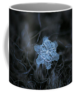 Coffee Mug featuring the photograph December 18 2015 - Snowflake 2 by Alexey Kljatov
