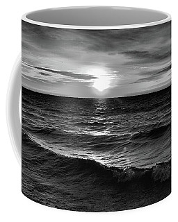 December 20-2016 Sunrise At Oro Station Bw  Coffee Mug by Lyle Crump