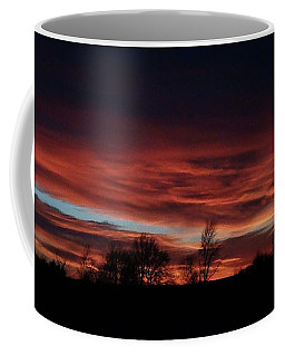 December 2016 Farm Sunset Coffee Mug
