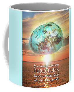 December Birthstone Turquoise Coffee Mug