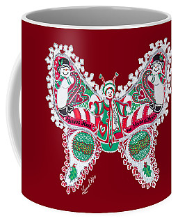 December Butterfly Coffee Mug