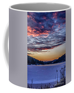 Coffee Mug featuring the photograph December Dawn On The Lake by Thomas R Fletcher