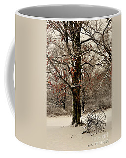 December Morning Coffee Mug by Diane E Berry