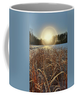 December Sun Coffee Mug by Rose-Marie Karlsen
