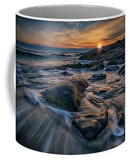December Sunrise In Ogunquit Coffee Mug