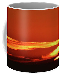 Coffee Mug featuring the photograph December Sunrise Three  by Lyle Crump