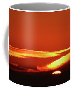 Coffee Mug featuring the photograph December Sunrise Two  by Lyle Crump