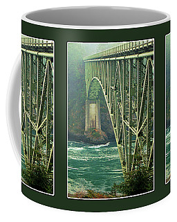 Deception Pass Bridge Coffee Mug by Krista-