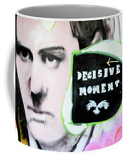 Coffee Mug featuring the photograph Decisive Moment by Art Block Collections