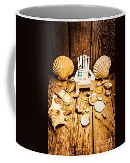 Deckchairs And Seashells Coffee Mug