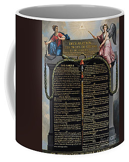 Declaration Of The Rights Of Man And Citizen Coffee Mug
