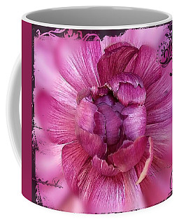 Deco Purple Mum Coffee Mug