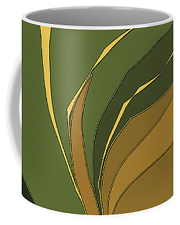 Coffee Mug featuring the digital art Deco Tile by Gina Harrison