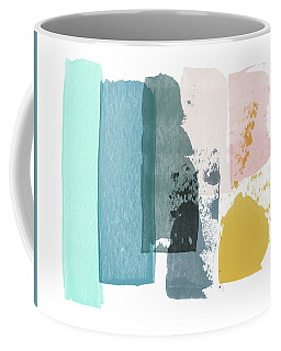 Deconstructed Sunset- Abstract Art By Linda Woods Coffee Mug