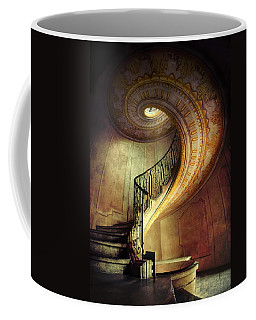 Decorated Spiral Staircase  Coffee Mug