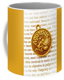 Decorative Aquarius Coffee Mug