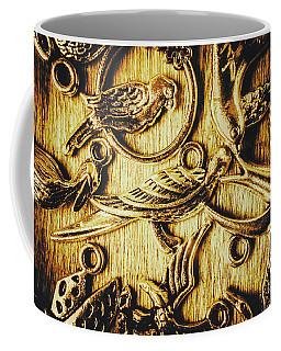 Decorative Bird Charms Coffee Mug