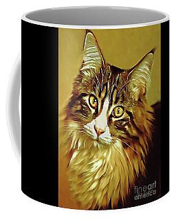 Decorative Digital Painting Maine Coon A71518 Coffee Mug