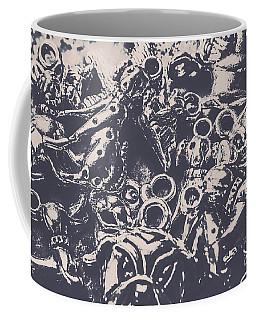 Decorative Dog Design Coffee Mug