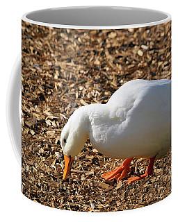 Coffee Mug featuring the mixed media Decorative Duck Series C5717 by Mas Art Studio