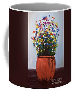 Impressionist Wildflower Garden Painting A103017 Coffee Mug