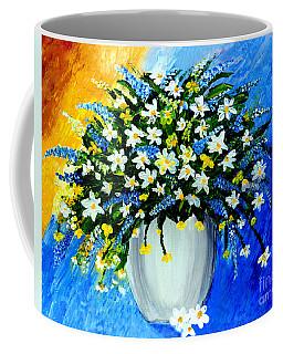 Decorative Floral Acrylic Painting G62017 Coffee Mug