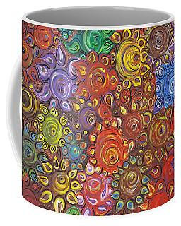 Decorative Flowers Coffee Mug by Rita Fetisov