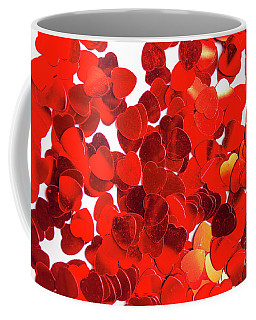 Decorative Heart Background Coffee Mug