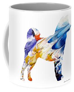 Decorative Husky Abstract O1015e Coffee Mug