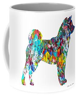 Decorative Husky Abstract O1015h Coffee Mug