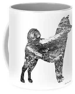 Decorative Husky Abstract O1015j Coffee Mug