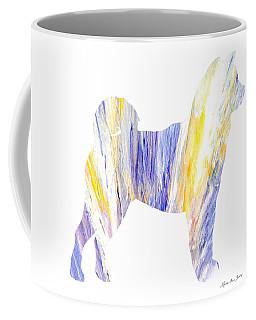 Decorative Husky Abstract O1015q Coffee Mug
