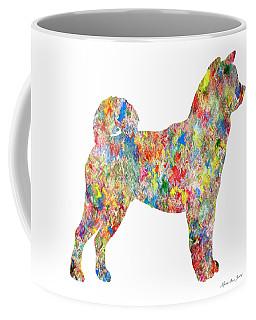 Decorative Husky Abstract O1215t Coffee Mug