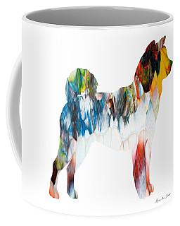 Decorative Husky Abstract O1015l Coffee Mug