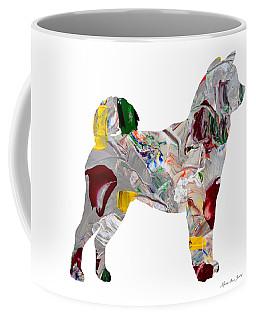 Decorative Husky Abstract O1015o Coffee Mug