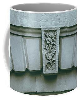 Coffee Mug featuring the photograph Decorative Keystone Architecture Details K by Jacek Wojnarowski