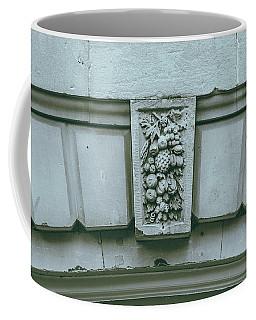 Coffee Mug featuring the photograph Decorative Keystone Architecture Details L by Jacek Wojnarowski