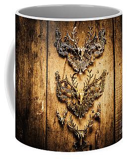 Decorative Moose Emblems Coffee Mug