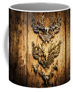 Decorative Moose Emblems Coffee Mug
