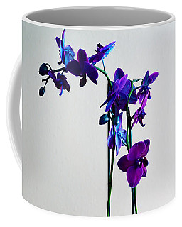 Coffee Mug featuring the photograph Decorative Orchid Photo A6517 by Mas Art Studio