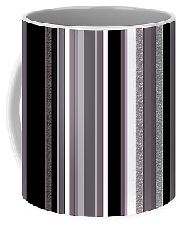 Decorative Stripe - Lavender Gray Coffee Mug